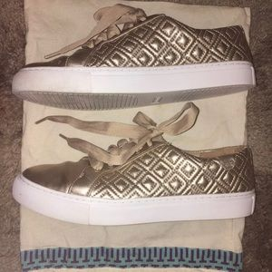 Shoes - Tory Burch Marion Quilted Sneaker